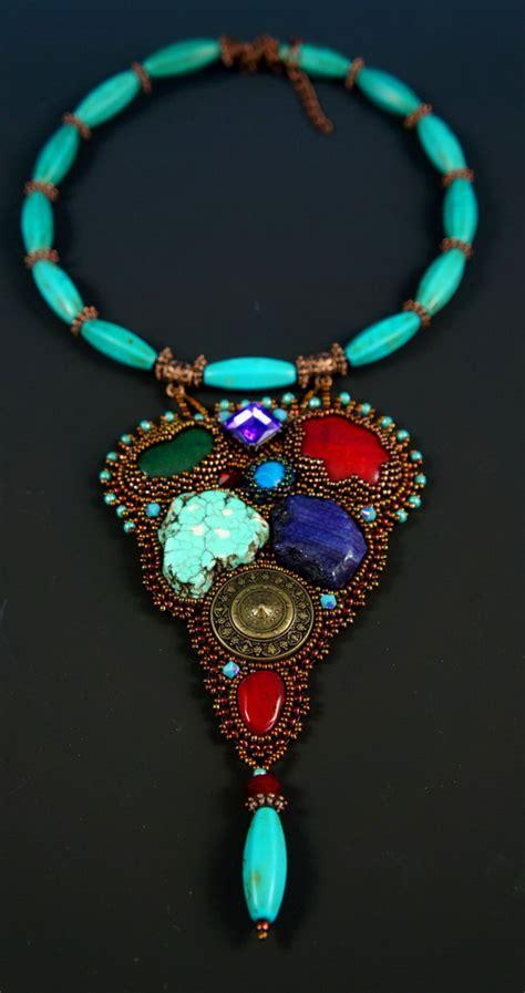 bead beautiful beautiful bead embroidered jewelry by guzialia reed