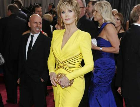 jane fonda yellow dress jane fonda yellow dress dazzling fashionistas at the oscars