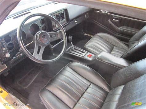 1980 Camaro Interior Parts by Black Interior 1980 Chevrolet Camaro Z28 Sport Coupe Photo