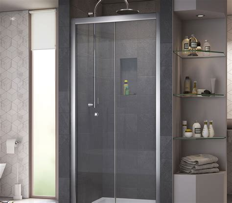Butterfly Shower Door Dreamline Butterfly 30 To 31 1 2 In Frameless Bi Fold Shower Door Shdr 4532726 01
