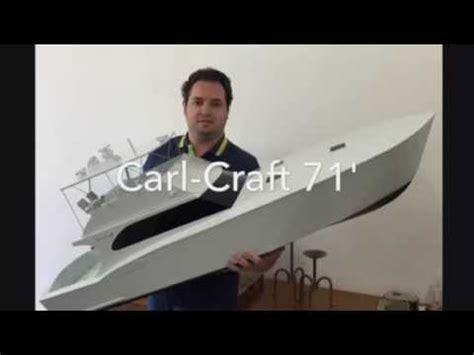 sport fishing boat scale model sport fishing rc boat carl craft 71 scale 1 15 57