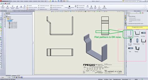solidworks pattern of bodies how to make a flatt pattern drawing 2d of multibody sheet