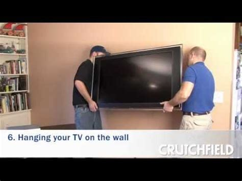 Tv Lcd Terkecil how to wall mount an lcd or plasma tv crutchfield