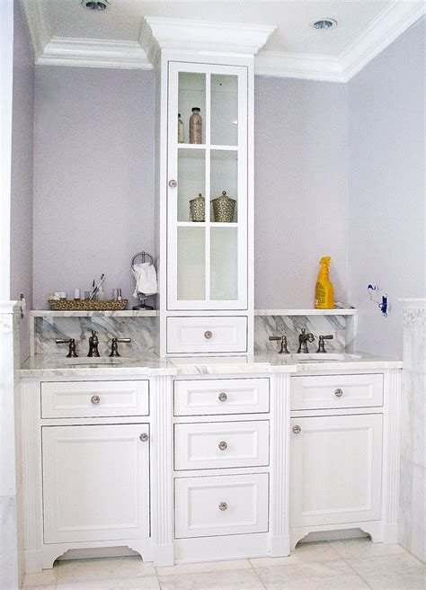 crafted master bath vanity by the woodworker s studio