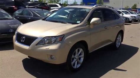 lexus gold lexus certified pre owned gold on parchment 2010 rx 350