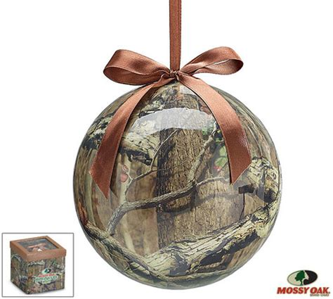 mossy oak camo ornament