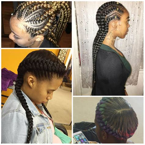 2017 Hairstyles For Braids by Up Braids For 2017 Goddess Braids Hairstyles For
