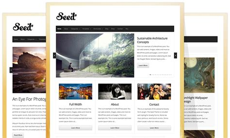 wordpress layout framework the seed theme a wordpress foundation theme framework