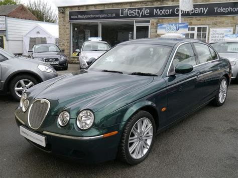 2007 jaguar s type for sale used jaguar s type 2007 diesel 2 7d v6 se 4dr saloon green