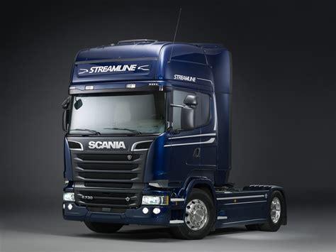 the new scania streamline v8 r 730 topline the new
