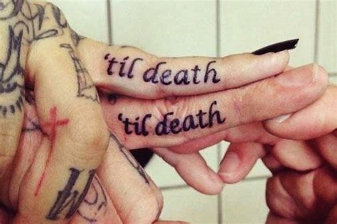 cute matching couple tattoos quotes cute matching couple