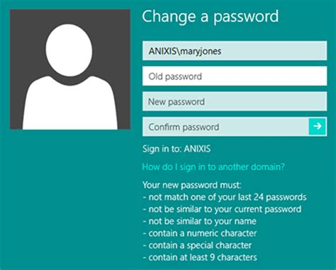 reset password xp virtual machine password policy enforcer helps users to choose passwords