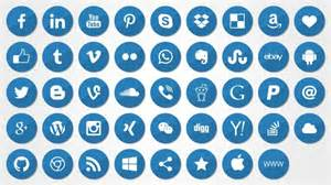 social media icons for powerpoint shapechef