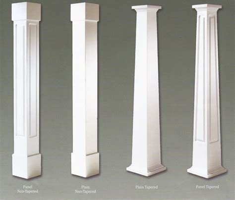 The Decorative Top Of A Column by Decorative Columns Home Depot Random Gray 36 In Outdoor