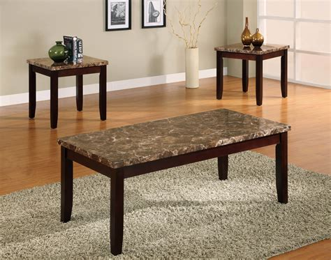Coffee And Side Table Set by Ferrara Coffee And End Table Set Occasional Tables