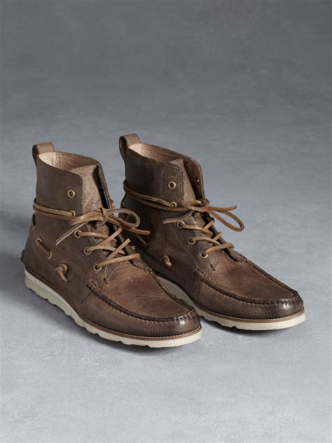varvatos lugger boat boot in brown for lyst