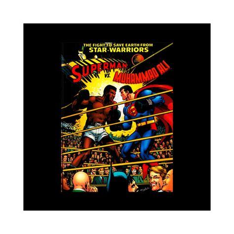 Moh Ali Vs Superman T Shirt shirt ali vs superman poster noir