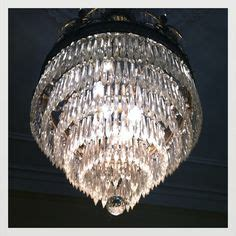 chandelier in of hoffmann schneider funeral home