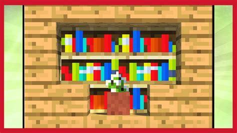 come fare una libreria minecraft come fare una libreria