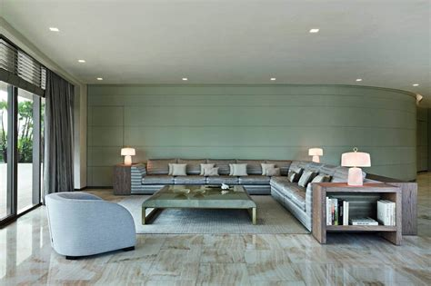 armani living room 15m isles penthouse designed by giorgio armani himself