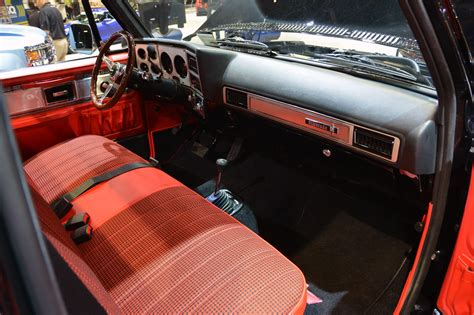 1978 Chevy Truck Interior by 1978 Chevrolet Performance Classic Truck Concept Sema