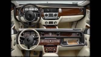 Rolls Royce Phantom Vs Ghost Rolls Royce Phantom Vs Ghost Interior And Exterior Pics