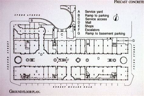 Eastgate   Ground floor plan   Archnet