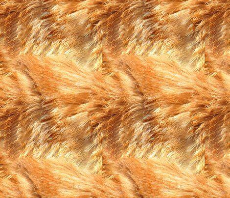 cat skin upholstery orange tabby fur fabric denise chukhina spoonflower