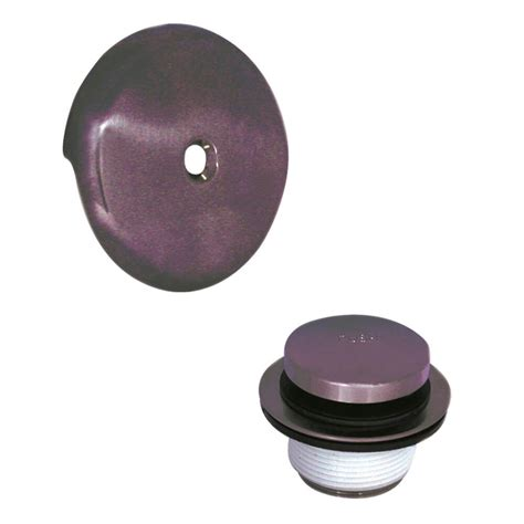 overflow trim ring oil rubbed bronze touch toe tub drain trim kit with overflow in oil rubbed