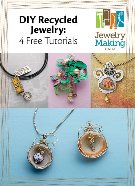 how to make recycled jewelry free diy recycled jewelry ideas on a budget jewelry daily