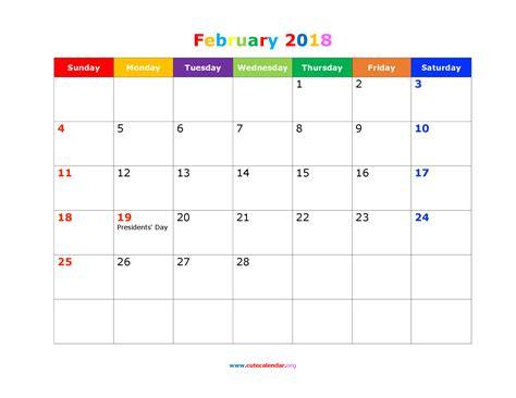free windows calendar template 2018 desktop wallpapers calendar february 2018 183