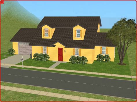 Custom Home Floor Plans Free mod the sims spooner st the griffin home from quot family guy quot