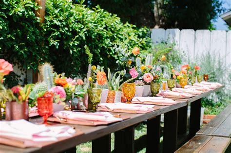 Backyard Wedding Advice Stylish Bohemian Backyard Wedding Candice Joe Green