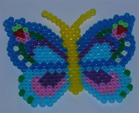 hama bead butterfly pattern 116 best images about mariposas on perler bead