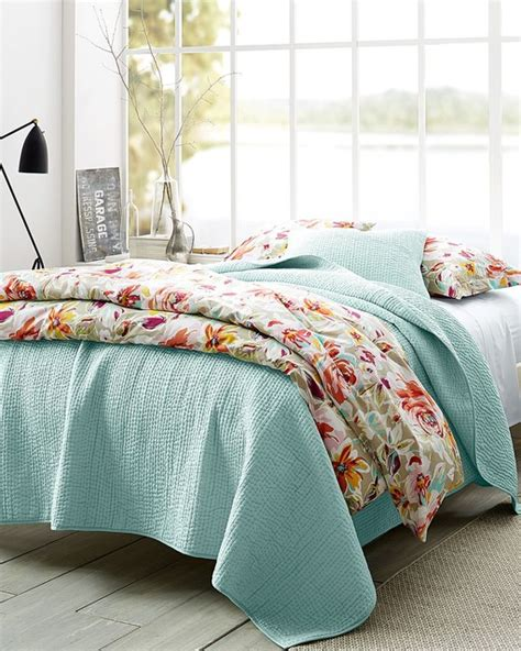 garnet hill coverlet garnet hill rustic roses bedroom eclectic bedroom