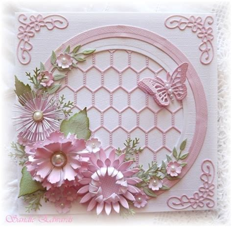 handmade flower design handmade card gorgeious dimensional flowers using