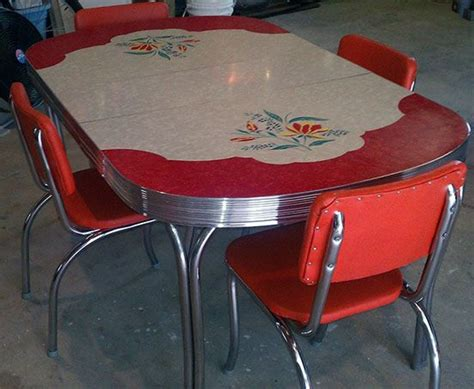 fifties style kitchen tables 1000 images about vintage table on