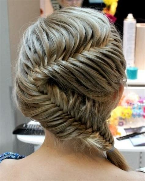 easy hairstyles with box fishtales 21 different fishtail hairstyles styles weekly