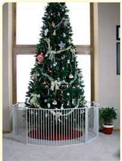 christmas tree gates for babies buy a tree gate for baby s safety and s peace of mind