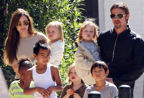 New Photo Of The Pitt Family by And Brad Pitt Family In New Orleans