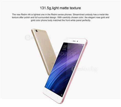 Xiaomi Redmi 4a 4g 2 16 Gb White Gold Snapdragon 425 package xiaomi redmi 4a 2gb 16gb smartphone gold