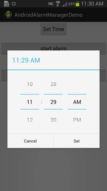 timepicker android android how to embed time picker in view stack overflow