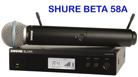Mic Sure Beta58a shure glxd24 beta 58a wireless microphone for vocals