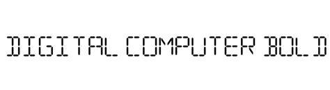 q bold supplement digital computer bold italic font