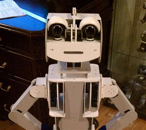 Echo Robot Looks For Other Friendly Bots by Polyro Open Source Robot Is And Friendly Slashgear