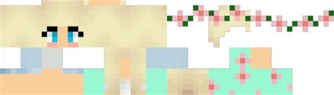 minecraft girl skins layout images