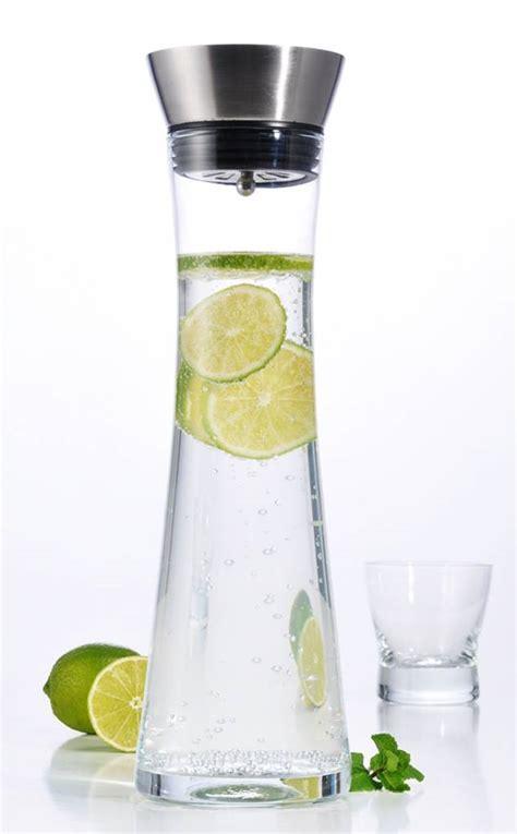 Slim Line 1l by Wasserkaraffe Karaffe Saftkrug Krug Aus Glas Mit Real