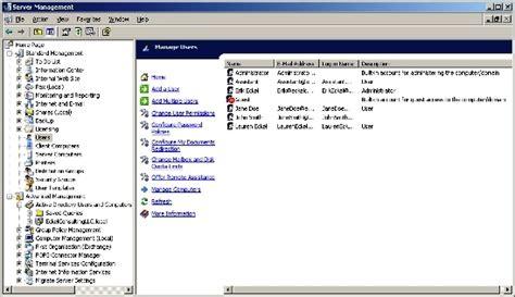 windows sbs console how do i manage microsoft s windows small business server