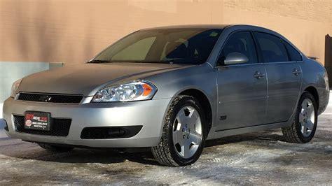 2008 impala on rims 2008 chevrolet impala ss 5 3l v8 leather alloy wheels
