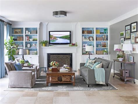 Hgtv Living Room Makeovers by How To Finish Decorating Your Living Room Hgtv